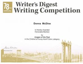 Writer's Digest 78th Writing Competition - Images of the Past