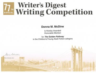 Writer's Digest 77th Writing Competition - The Golden Pathway